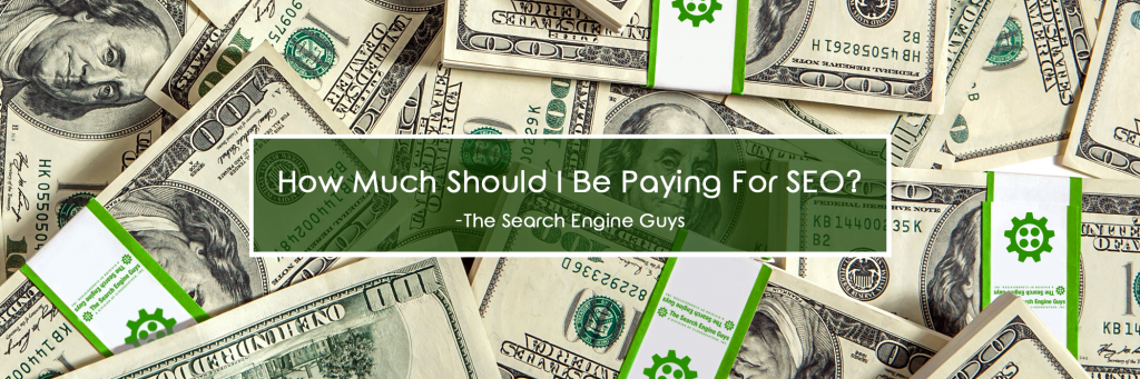 How much Should I be paying for SEO?