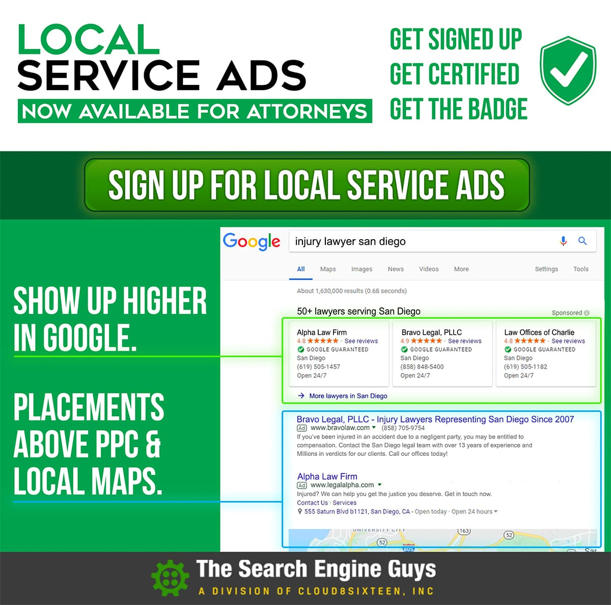 Google Service Ad Flyer